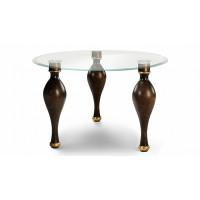 Стол со стеклянной столешницей Буржуа