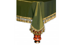 Покрывало Венеция 12фт шёлк олива