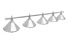 Светильник Prestige Silver 5 плафонов