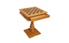 Шахматный стол Эксклюзив, светлый дуб, без фигур