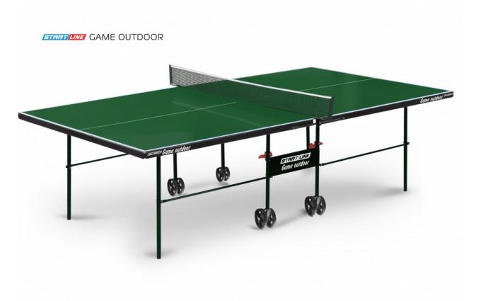Теннисный стол Start Line Game Outdoor green
